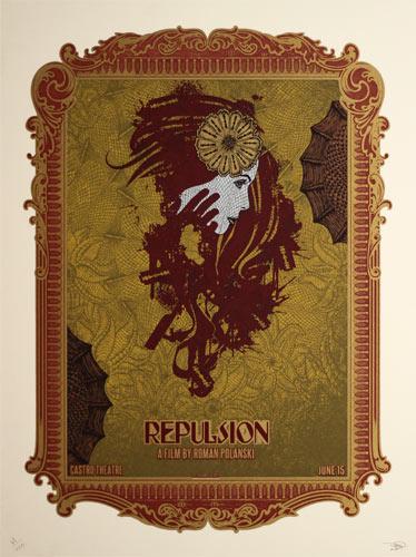 Alien Corset Roman Polanski Repulsion Movie Poster