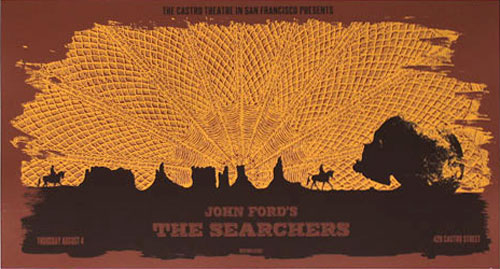 Alien Corset John Ford - The Searchers Movie Poster