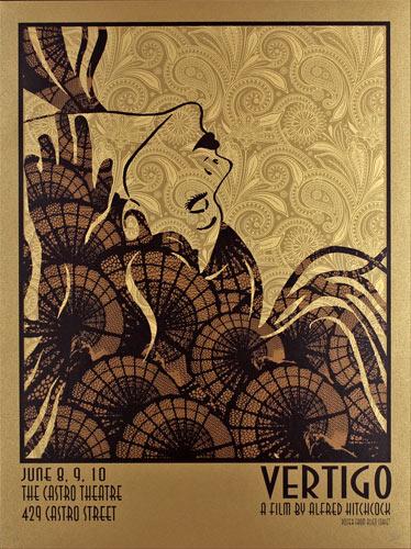 Alien Corset Vertigo Movie Poster