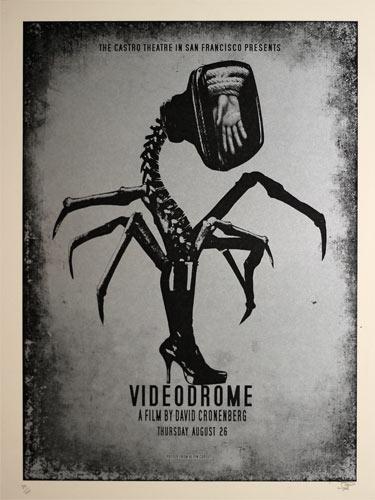 Alien Corset David Cronenberg Videodrome Movie Poster