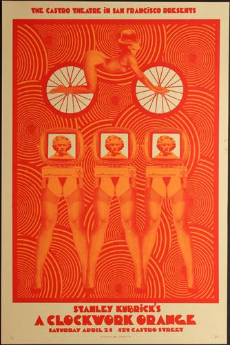 Alien Corset - David O'Daniel Stanley Kubrick A Clockwork Orange Movie Poster