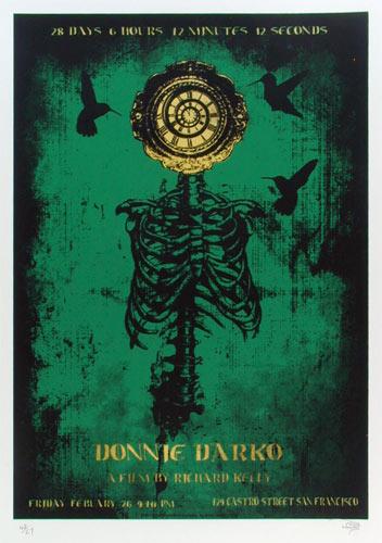 Alien Corset - David O'Daniel Donnie Darko Movie Poster