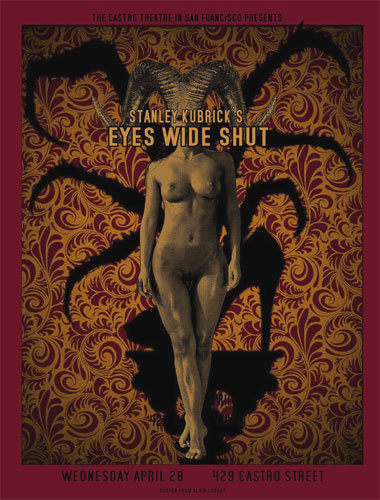 Alien Corset - David O'Daniel Stanley Kubrick Eyes Wide Shut Movie Poster