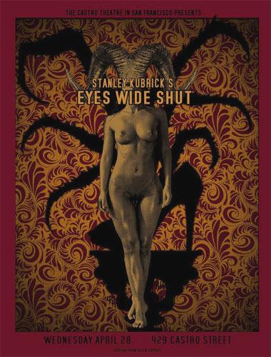 Alien Corset - David O'Daniel Stanley Kubrick Eyes Wide Shut Movie Poster