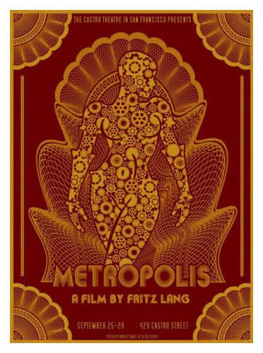 Fritz Lang Metropolis Movie Poster