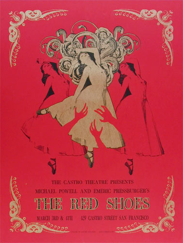 David O'Daniel Michael Powell, Emeric Pressburger The Red Shoes Movie Poster