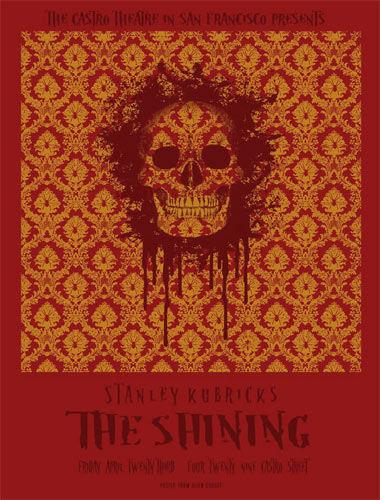Stanley Kubrick The Shining Movie Poster