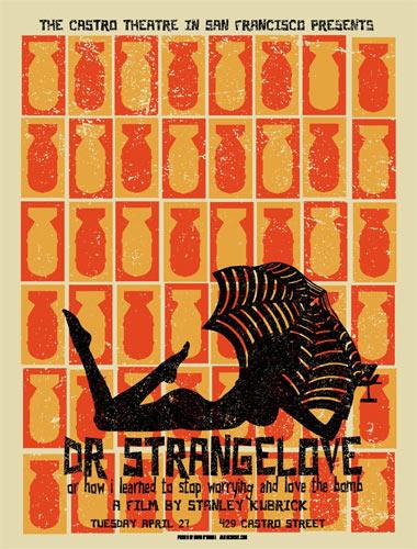 Stanley Kubrick Dr. Strangelove Movie Poster