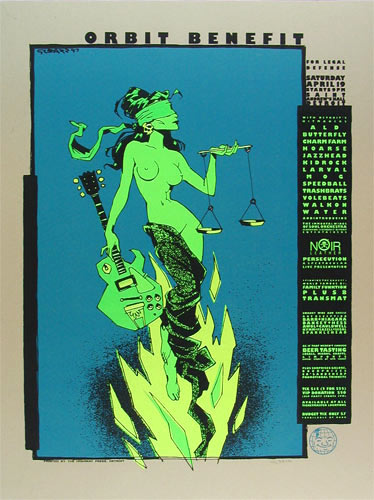 Glenn Barr Orbit Benefit ALO , Kid Rock Poster