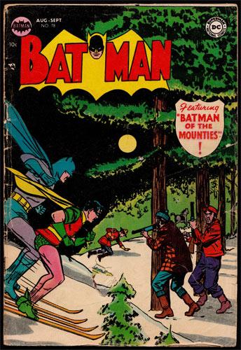 Batman #78 Comic Book