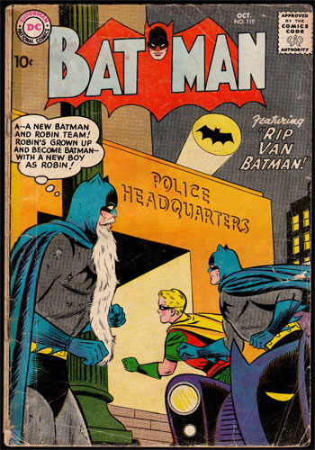 Batman #119 Comic Book