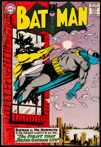 Batman #168 Comic Book