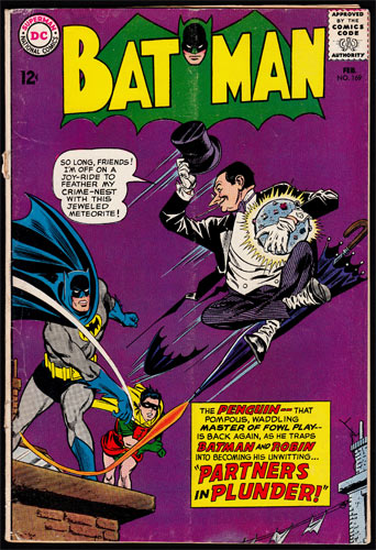 Batman #169 Comic Book