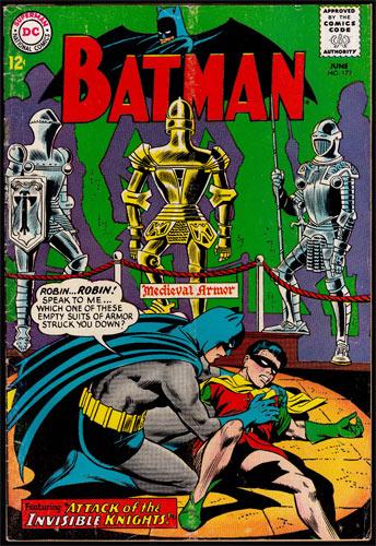 Batman #172 Comic Book