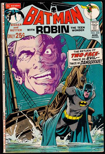 Batman #234 Comic Book