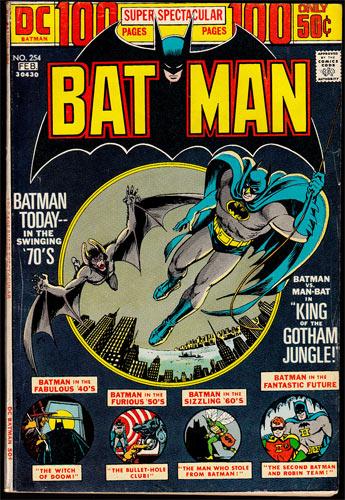 Batman #254 Comic Book