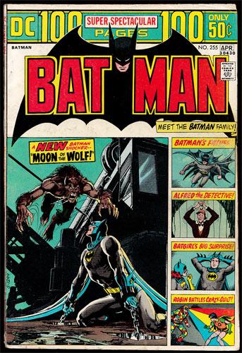 Batman #255 Comic Book