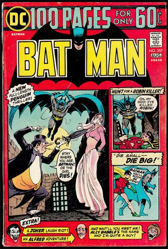 Batman #257 Comic Book