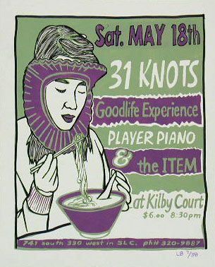 Leia Bell 31 Knots Poster