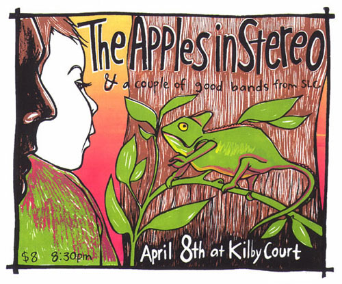 Leia Bell The Apples in Stereo Poster