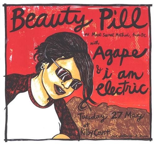 Leia Bell Beauty Pill Poster