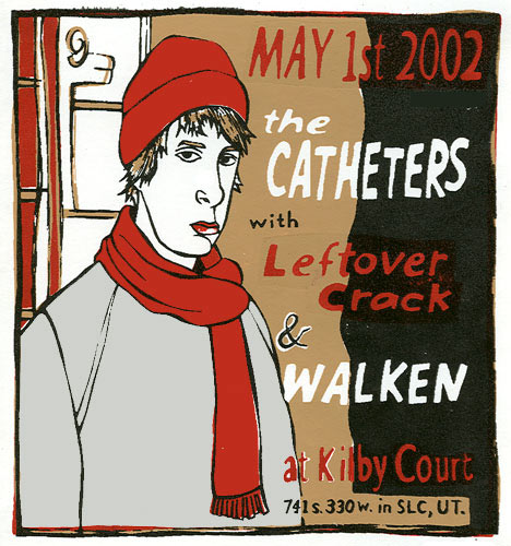 Leia Bell The Catheters Poster