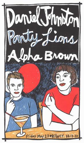 Leia Bell Daniel Johnston Poster