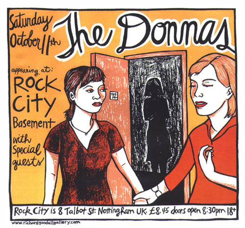 Leia Bell The Donnas Poster