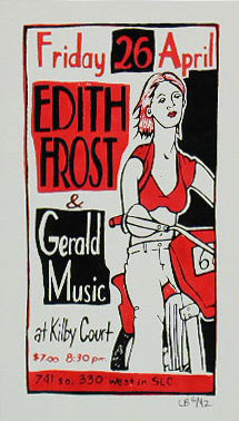 Leia Bell Edith Frost Poster