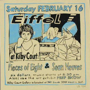 Leia Bell Eiffel Poster