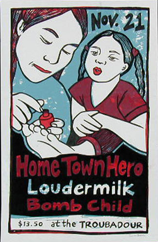 Leia Bell Home Town Hero Poster