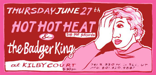 Leia Bell Hot Hot Heat Poster