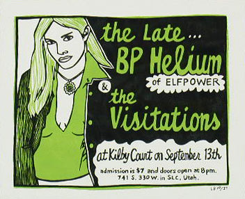 Leia Bell The Late BP Helium Poster
