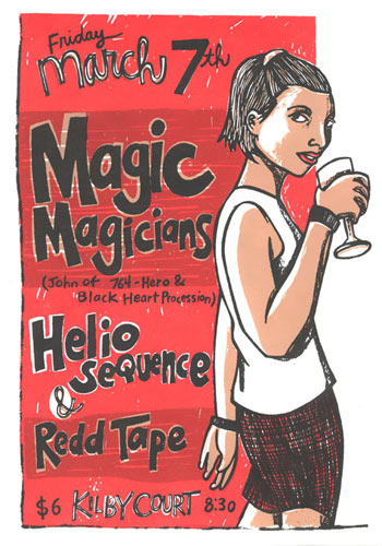 Leia Bell Magic Magicians Poster