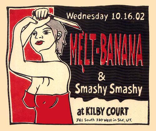 Leia Bell Melt Banana Poster