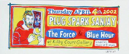 Leia Bell Plug Spark Sanjay Poster