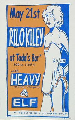 Leia Bell Rilo Kiley Poster