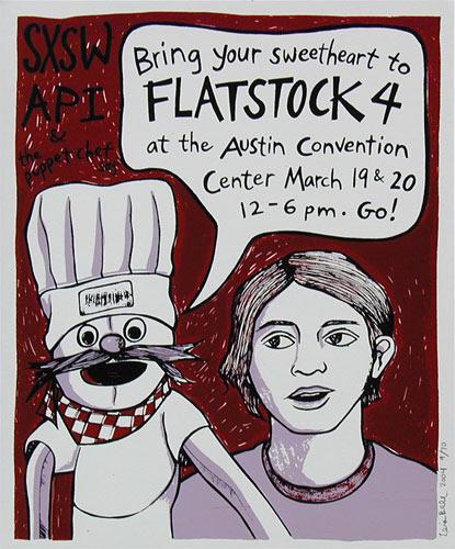 Leia Bell Flatstock 4 Poster
