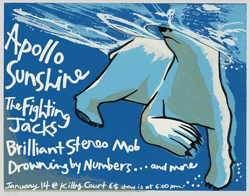 Leia Bell Apollo Sunshine Poster
