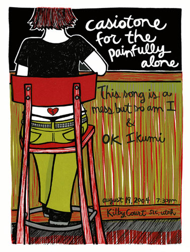 Leia Bell Casiotone For The Painfully Alone Poster