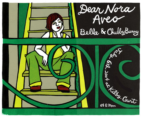 Leia Bell Dear Nora Poster
