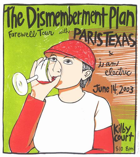 Leia Bell Dismemberment Plan Poster