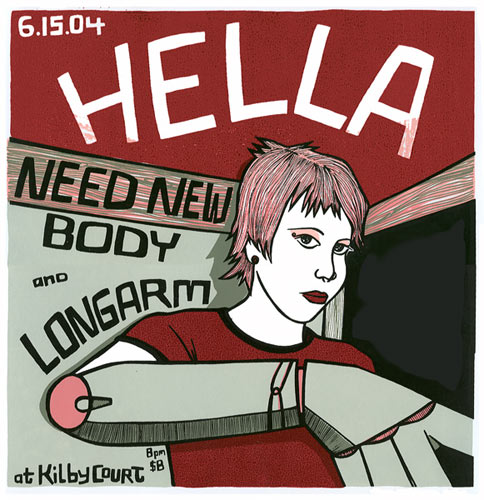 Leia Bell Hella Poster