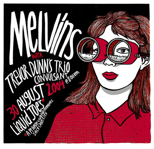 Leia Bell Melvins Poster