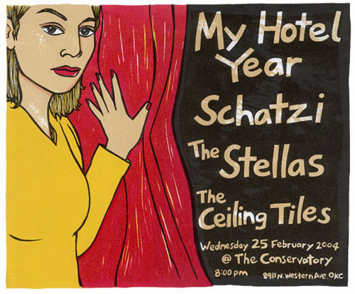 Leia Bell My Hotel Year Poster