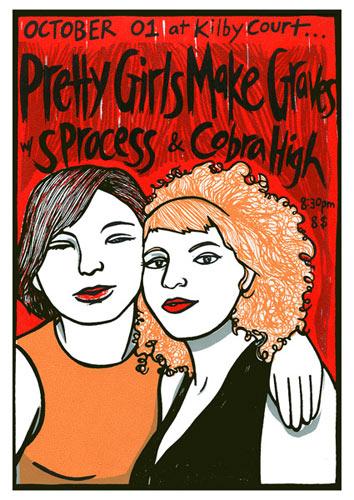 Leia Bell Pretty Girls Make Graves Poster