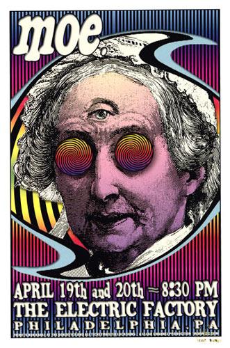 Scott Benge (FGX) moe. Poster