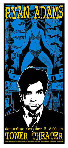 Scott Benge (FGX) Ryan Adams Poster