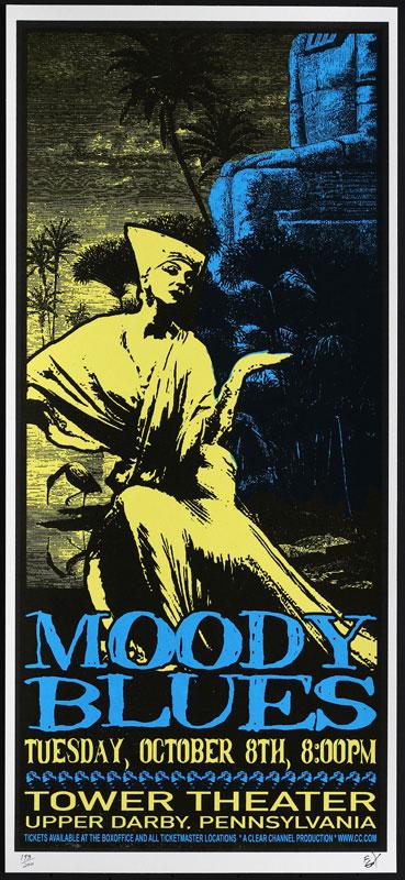 Scott Benge (FGX) Moody Blues Handbill