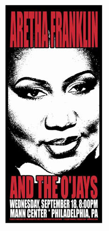 Scott Benge (FGX) Aretha Franklin Poster